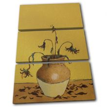 Sunflowers Banksy Painting - 13-1620(00B)-TR32-PO